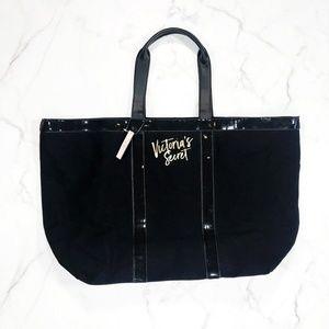 NEW Victoria's Secret Sequin Weekender Tote Bag